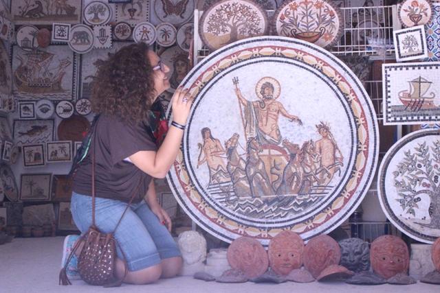 صورة مع أوليس الاسطوري