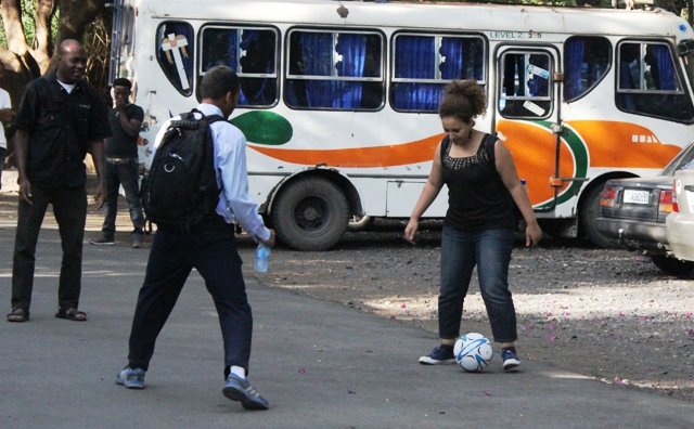 كرة القدم مع شباب الاتحاد الافريقي