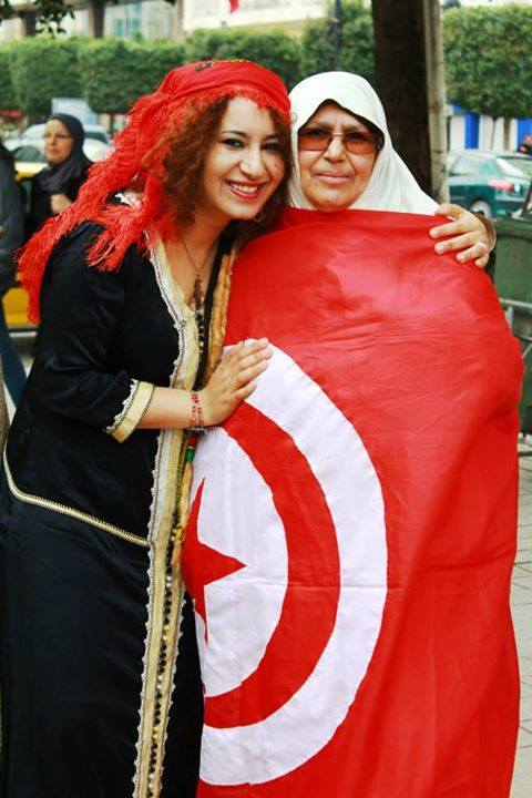 صورة في تظاهرة لليوم الوطني للباس التقليدي التونسي